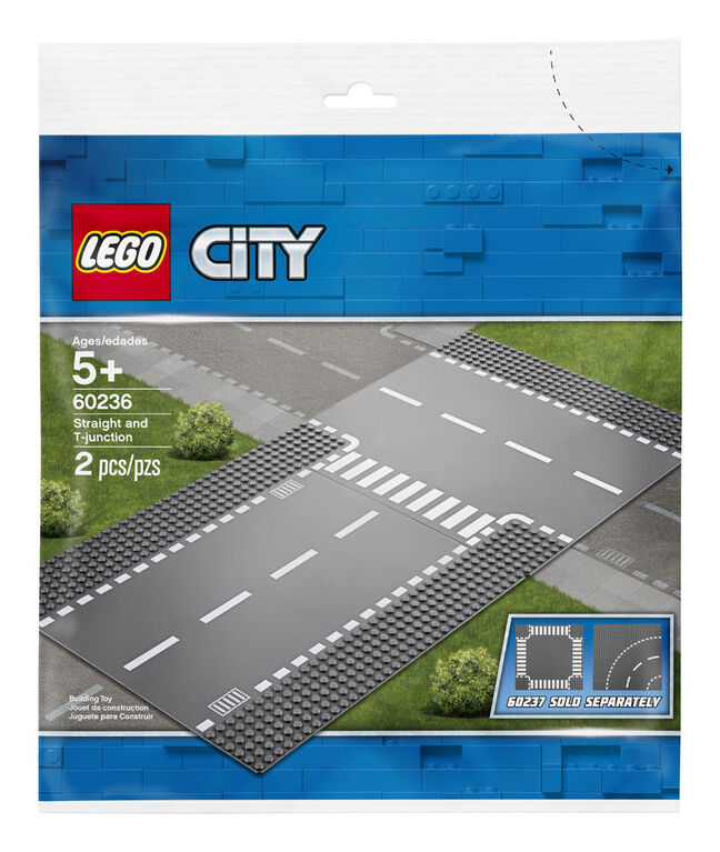 LEGO City Supplementary Droite et intersection 60236