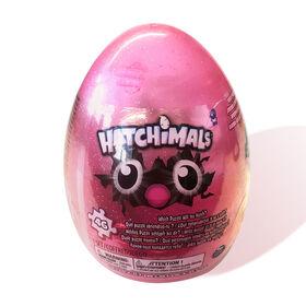 Hatchimals 46-Piece Mystery Glitter Puzzle with Storage Egg