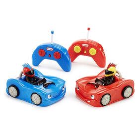 Little Tikes - Autos tamponneuses télécommandées (paquet de 2)