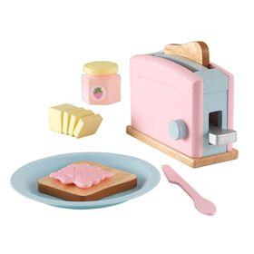 KidKraft - Toaster Set - Pastel