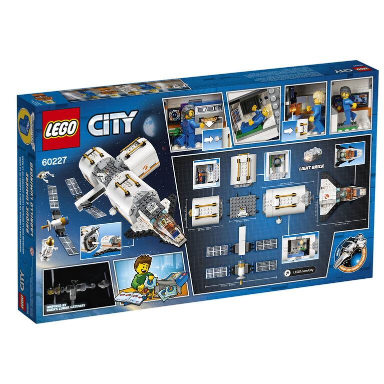 LEGO City Space Port La station spatiale lunaire 60227