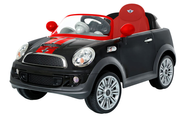 6V Mini Cooper Coupe - Black