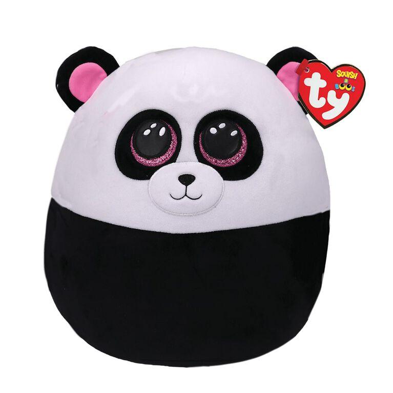 Ty Squish Bamboo Black And White Panda 10 inch