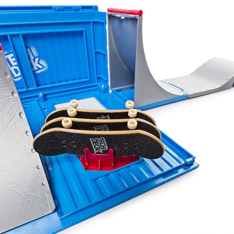 Tech Deck - Transforming SK8 Container with Ramp Set and Skateboard