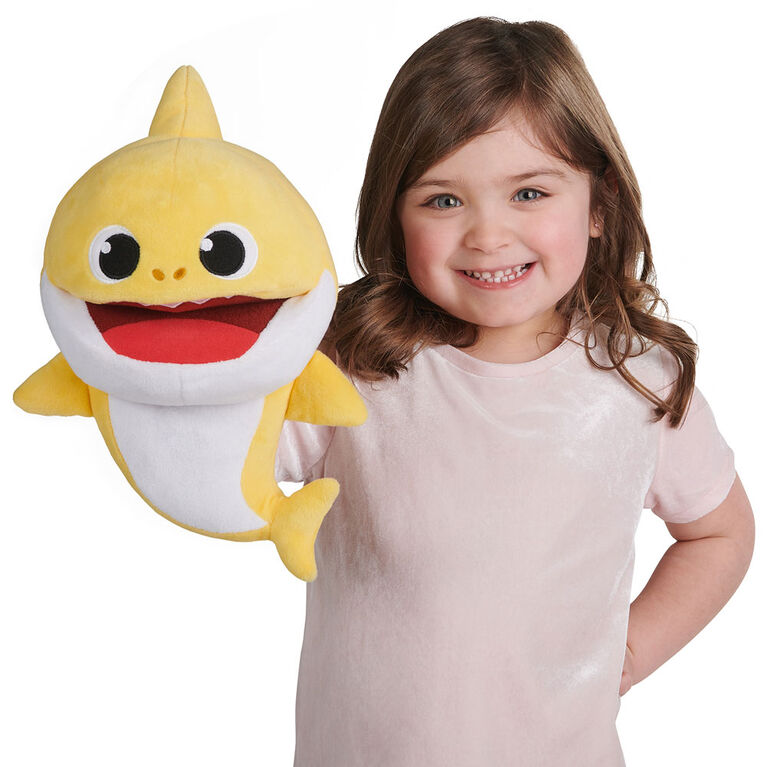 Pinkfong Baby Shark Song Puppet with Tempo Control - Baby Shark
