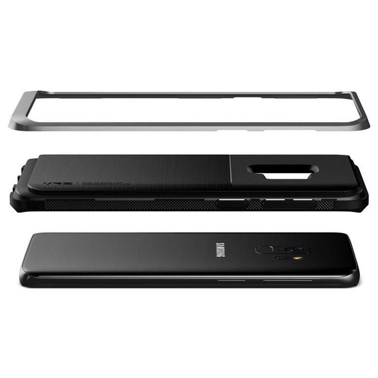 Vrs Design High Pro Shield Slim Étui pour Samsung Galaxy S9 Argent (VRSGS9HPSSS)
