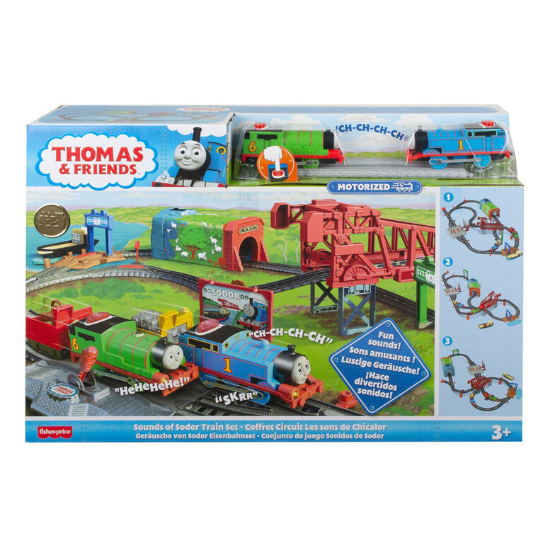 Thomas & Friends Sounds of Sodor Train Set - French Edition