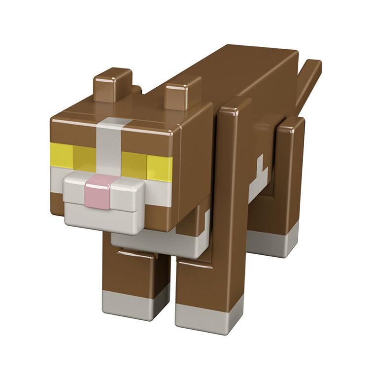 Minecraft - Figurine Chat Tigré - Édition anglaise