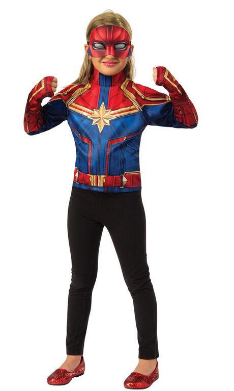 Captain Marvel Deluxe Dress Up Set