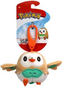 Pokémon Clip On Plush - Rowlet