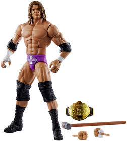 WWE - WrestleMania - Collection Elite - Figurine articulée - Triple H - Édition anglaise.
