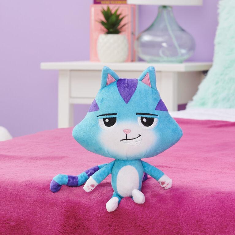 DreamWorks, Gabby's Dollhouse, Peluche Purr-ific Plush CatRat de 20,3 cm