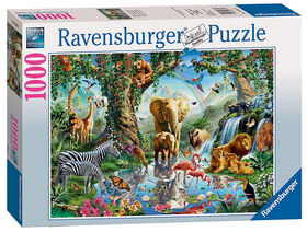Ravensburger! Adventures in The Jungle Jigsaw casse tête (1000pc)