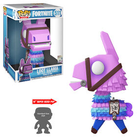 Figurine en vinyle Loot Llama 10'' par Funko POP! Fortnite