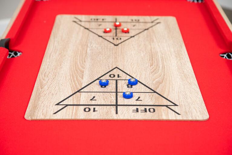 Table de jeu polyvaklente Madison 54 pouces 6-en-1