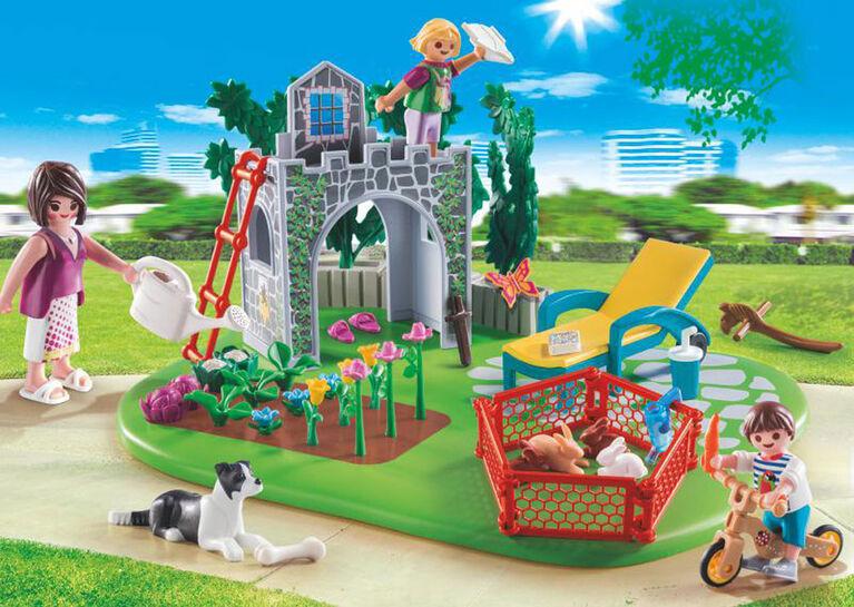 SuperSet Famille et jardin 70010, Playmobil Family Fun