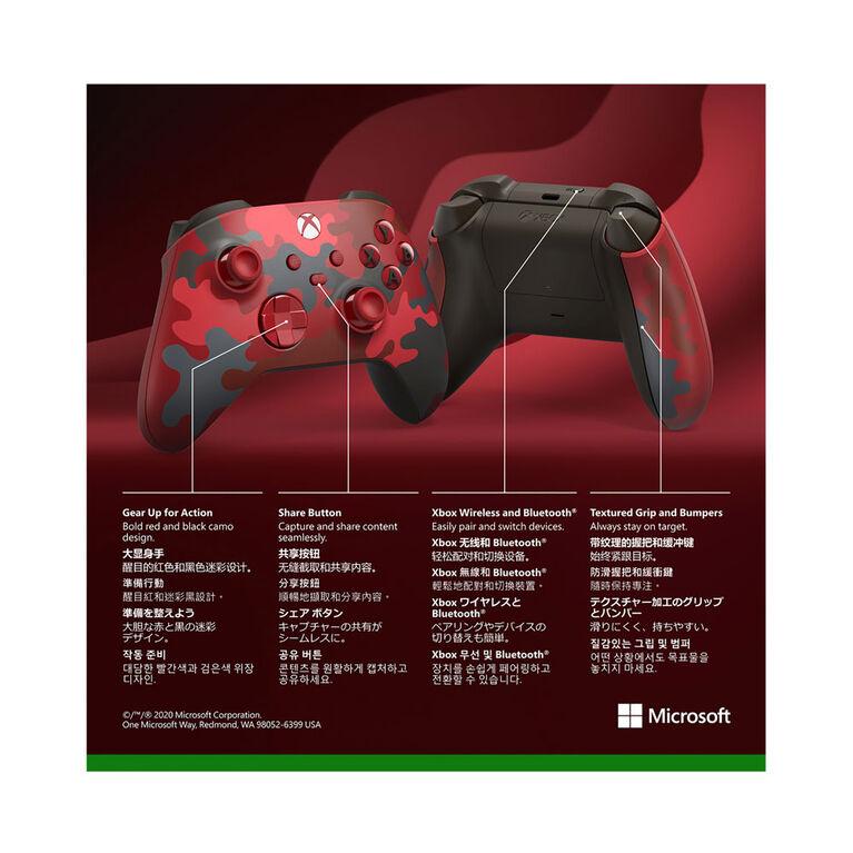 Xbox Series X Wireless Controller Daystrike Camo Special Edition