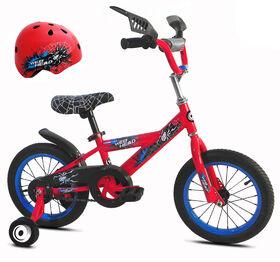 Avigo Webhead Bike with Helmet - 14 inch