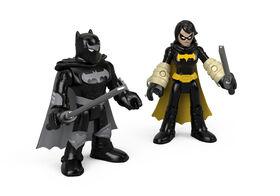 Imaginext - DC Super Friends - Black Bat et Batman Ninja