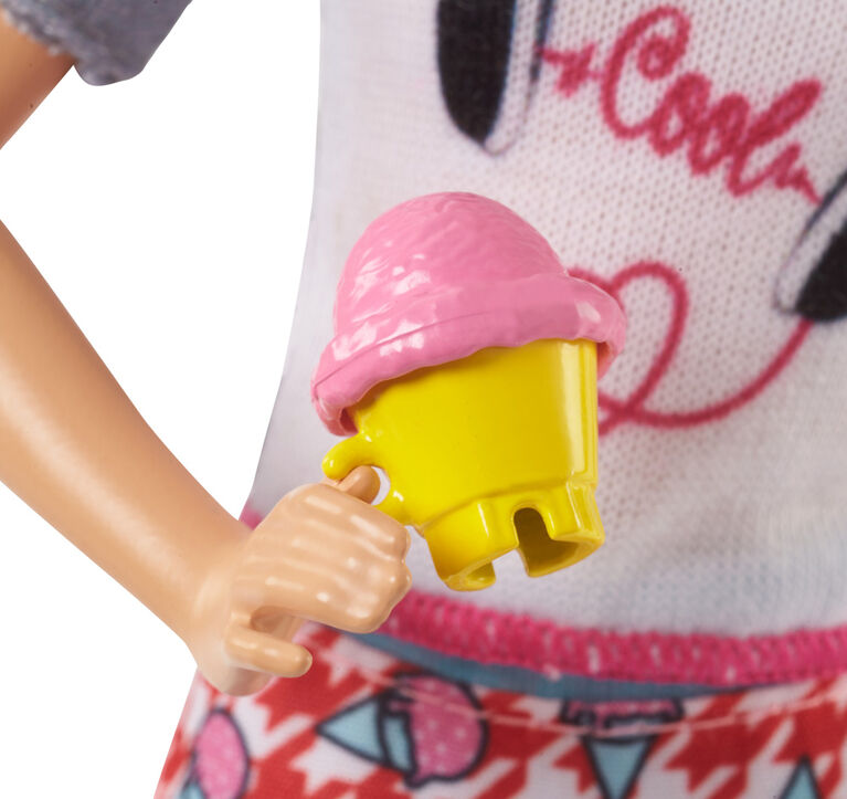 Barbie Sisters Skipper Doll Ice Cream Set