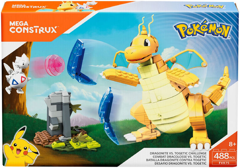 Mega Construx -  Pokemon Dragonite vs Togetic Playset