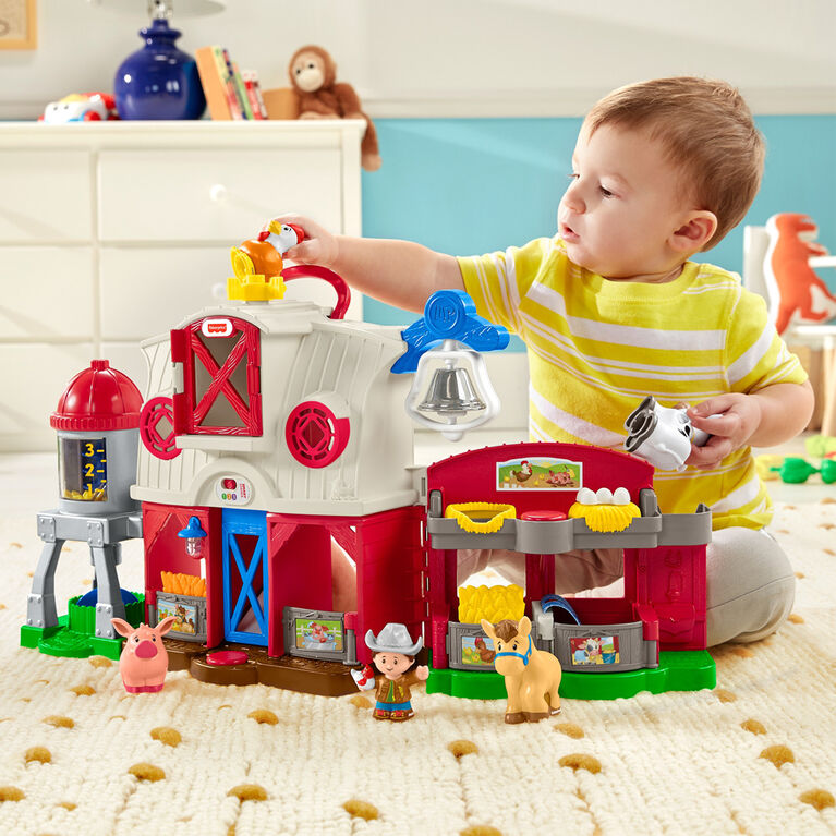 Fisher-Price - Little People -Ferme Soin des Animaux