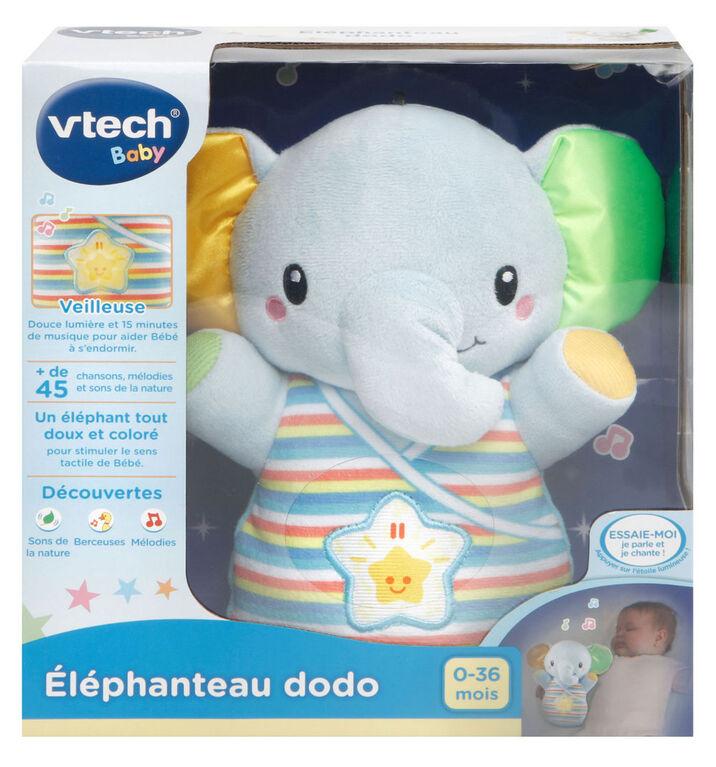 VTech Éléphanteau dodo - Bleu - Édition française