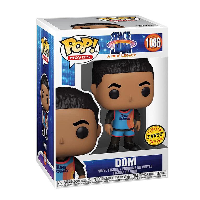 Figurine en Vinyle Dom par Funko POP! Space Jam: A New Legacy