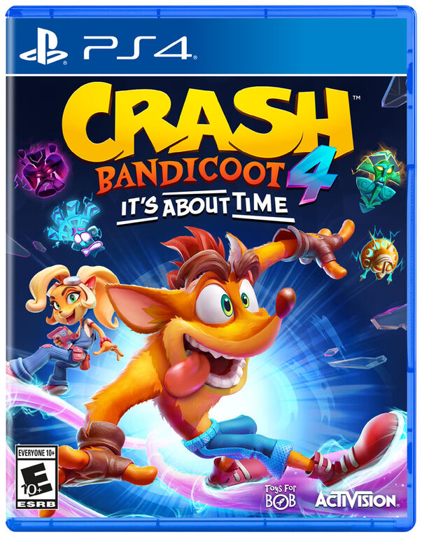 PlayStation 4 Crash Bandicoot 4: It's About Time