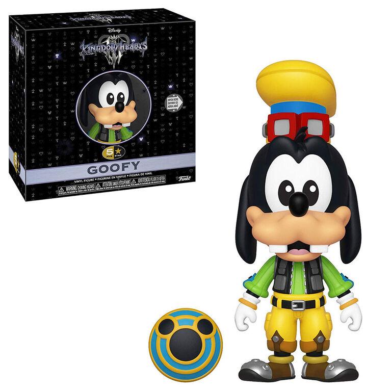 Funko 5 Star! Games: Kingdom Hearts 3 - Goofy Vinyl Figure