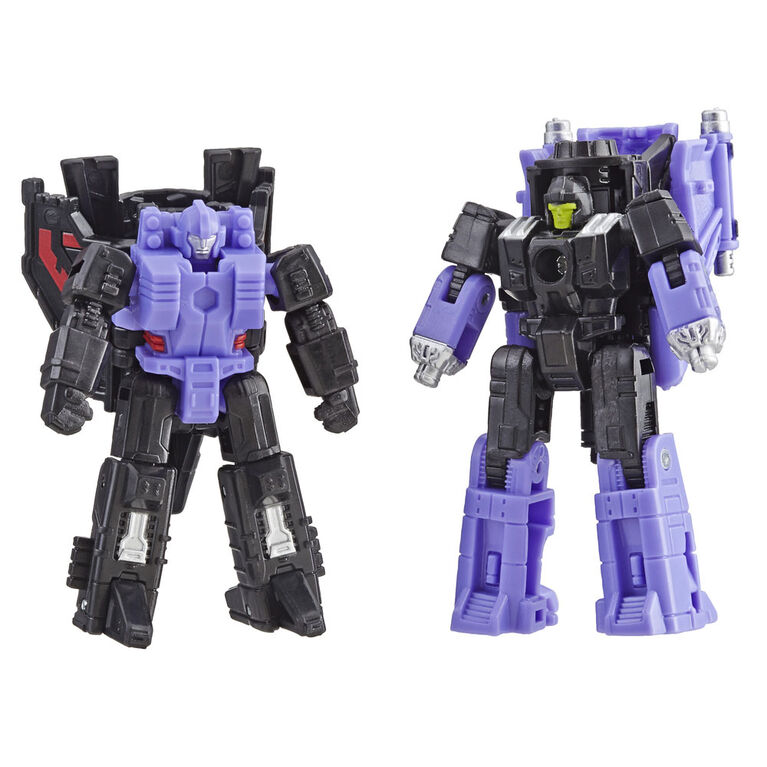 Transformers Generations War for Cybertron: Siege Micromaster Decepticon Air Strike Patrol 2-pack Action Figure
