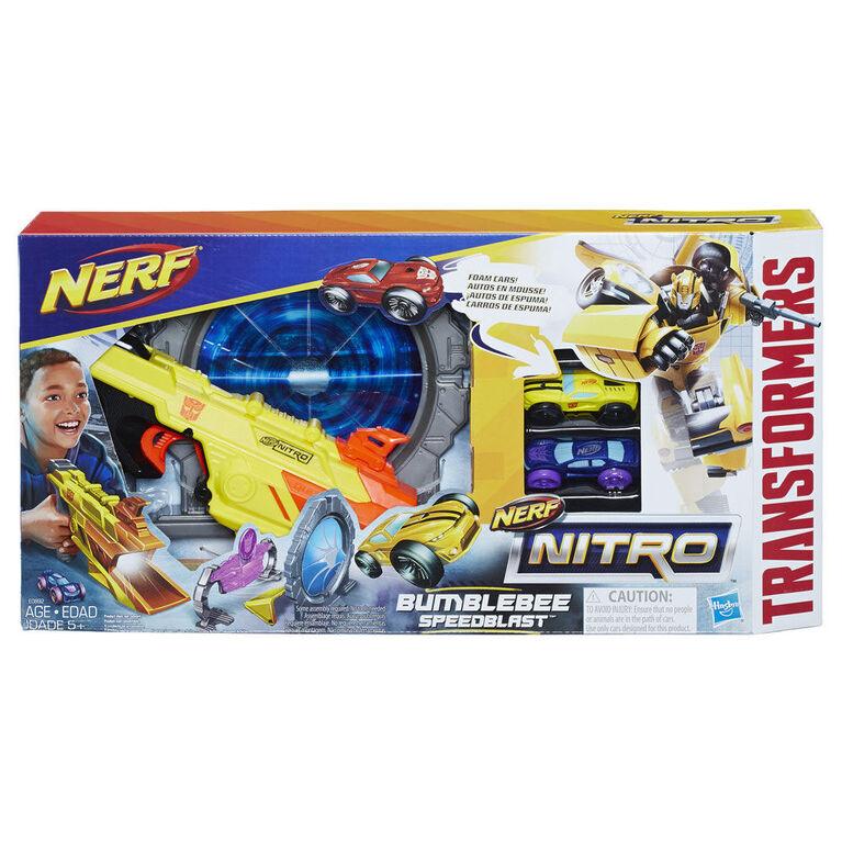 Nerf Nitro Transformers Bumblebee Speedblast