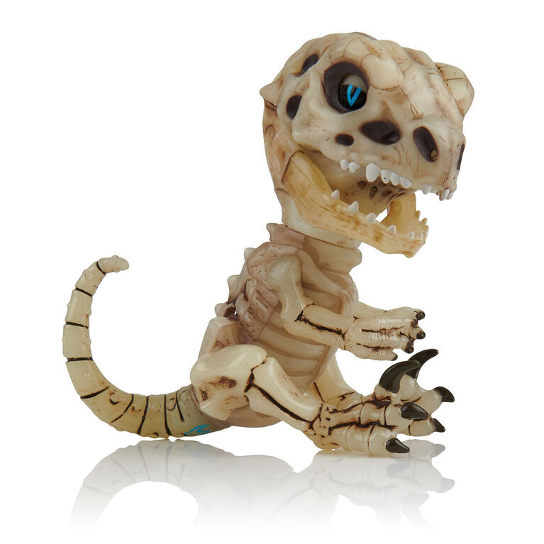 Fingerlings Untamed - Bonehead Skeleton Raptor - Gloom (Sand)