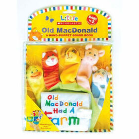 Old MacDonald Puppet Book - Édition anglaise