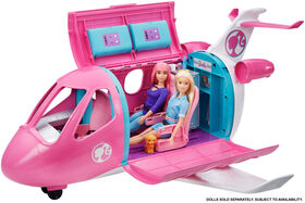 Barbie Dreamplane Transforming Playset with Working Features and 15+ Pieces