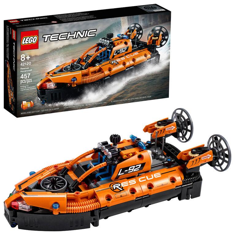 LEGO Technic L'aéroglisseur de sauvetage 42120