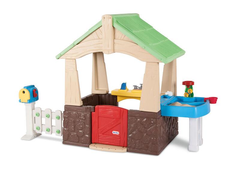 Little Tikes - Deluxe Home & Garden Playhouse