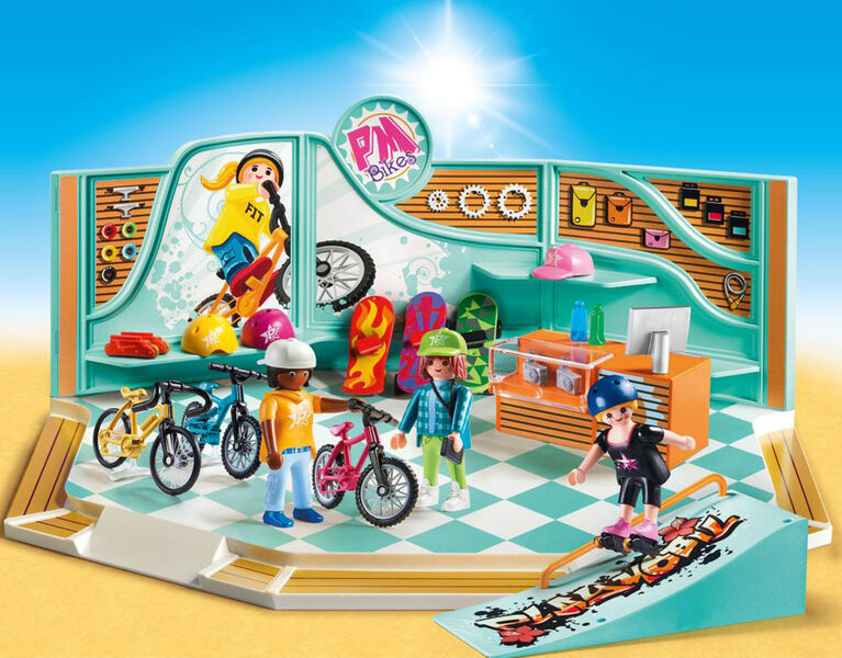 Playmobil - Bike & Skate Shop