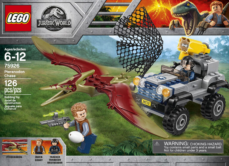 LEGO Jurassic World La course-poursuite du Ptéranodon 75926