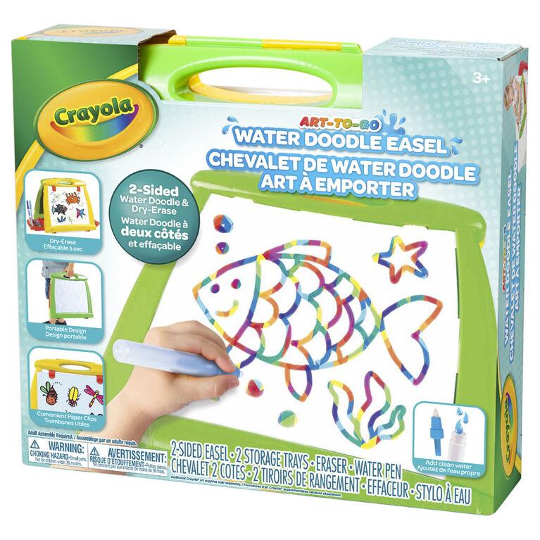Chevalet de Water Doodle art à emporter