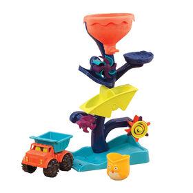 B. Toys Owl About Waterfalls Water Wheel