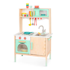 Cuisine-jouet en bois, Mini Chef Kitchenette, B. toys