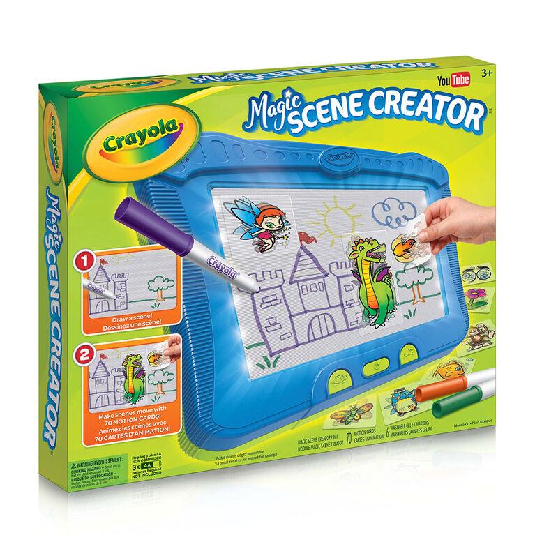 Crayola - Trousse Magic Scene Creator