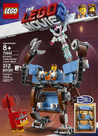 LEGO Movie Le canapé à trois étages d'Emmet 70842