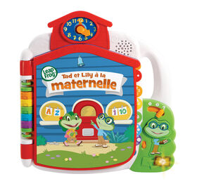 LeapFrog Tad's Get Ready for School Book - French Edition