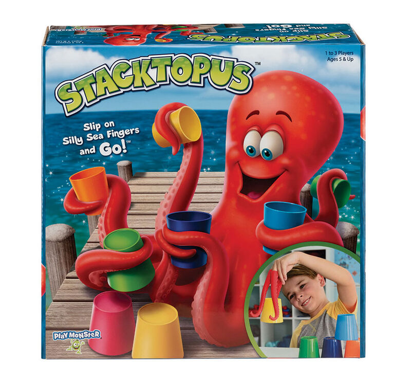 PlayMonster - Stacktopus - Édition anglaise