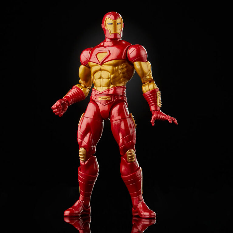 Hasbro Marvel Legends Series Modular Iron Man Action Figure Toy, Includes 4 Accessories and 1 Build-A-Figure Part
