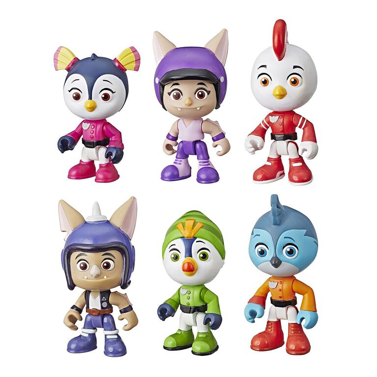 Top Wing 6-Character Collection Pack