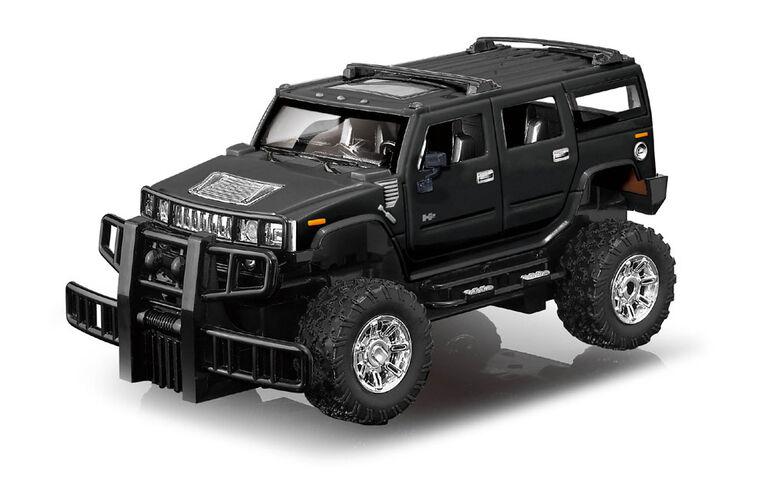 RC Hummer H2 SUV - Black - English Edition