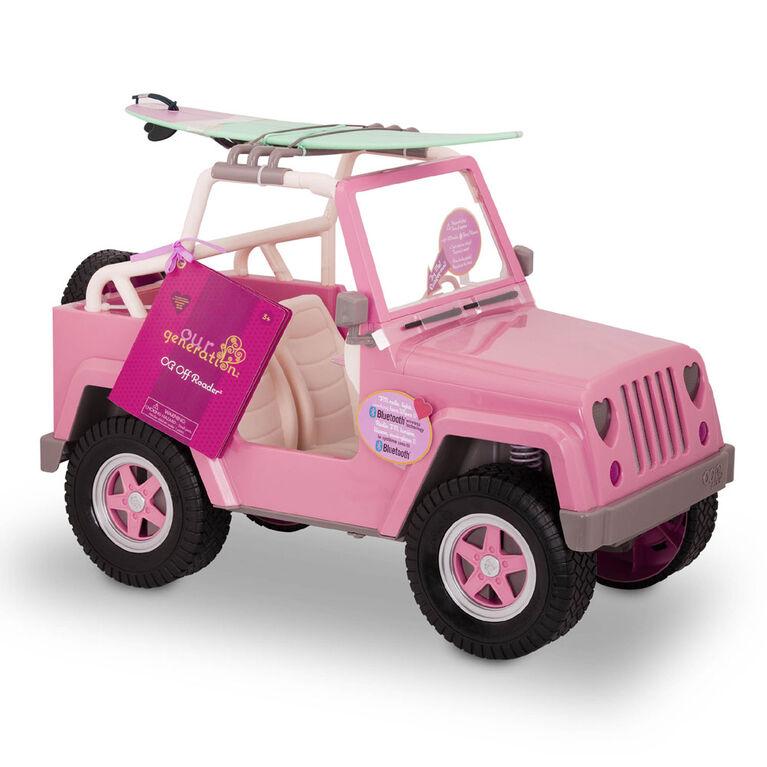 OG Off Roader, Our Generation, Véhicule avec accessoires électroniques pour poupées de 18po